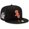 White Sox 2017 HRD Beehive Patch Fitted