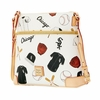 White Sox Dooney & Bourke Crossbody - Novelty White