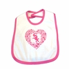 White Sox Hearts Bib