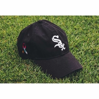 White Sox Limited Edition Cancer Ribbon Hat