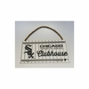 White Sox Wood Clubhouse Sign