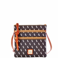 White Sox Dooney & Bourke Triple Zip Crossbody Bag