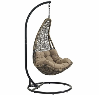 Outstanding Abate Outdoor Patio Swing Chair Modern In Designs Gmtry Best Dining Table And Chair Ideas Images Gmtryco