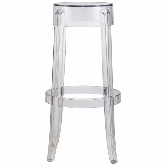 Acrylic Bar Stool Clear Modern In Designs