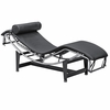 Adjustable Leather Chaise