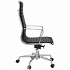 AG Ribbed High Back Office Chair Black