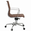 AG Ribbed Mid Back Office Chair Terracotta