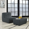 Align 2 Piece Upholstered Armchair and Ottoman Set
