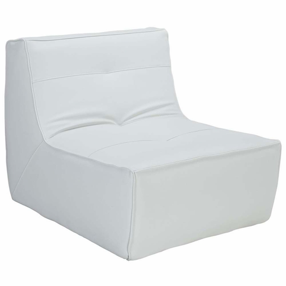 Align Bonded Leather Armchair