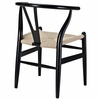 Amish Dining Armchair Set of 2 in Black