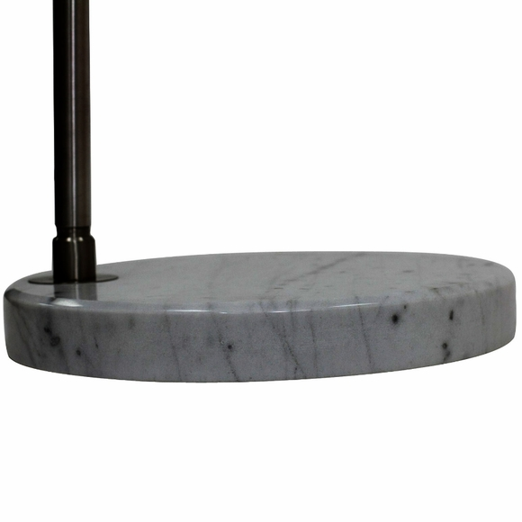 Arco Floor Lamp Round Marble Base