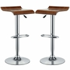 Bentwood Bar Stool Set of 2