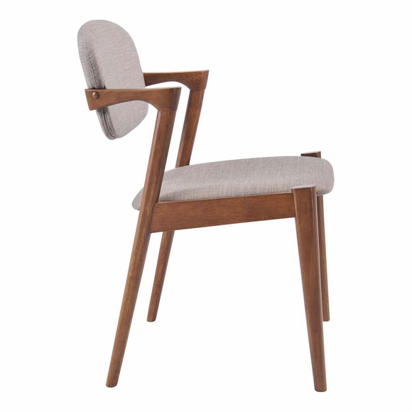 Brickell Dining Chair Dove Gray Modern In Designs
