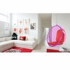 Bubble Hanging Chair Pink Acrylic