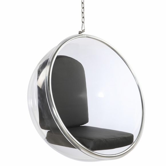 Bubble Polished Chrome Hanging Chair