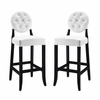 Button Bar Stool Set of 2