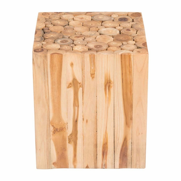 Teak Wood Pieces ~ Cave table stool modern in designs