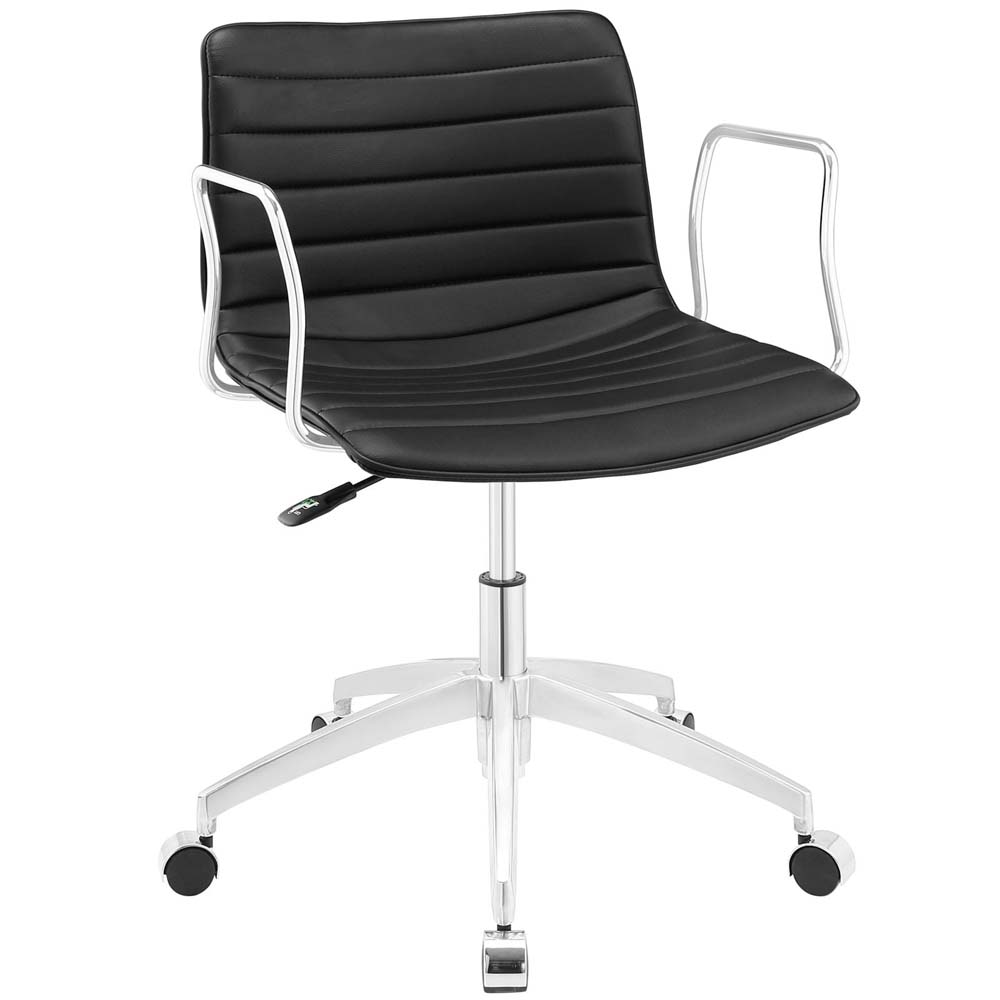 lexmod ribbed mid office. Lexmod Ribbed Mid Office