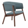 Chapel Lounge Chair Blue Set of 2