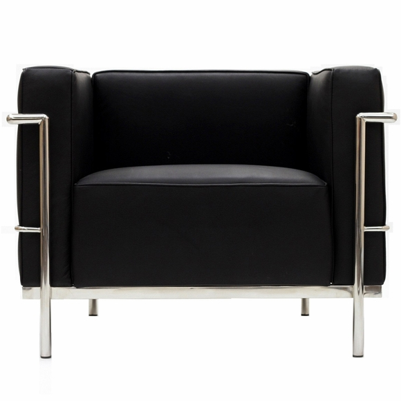 Charlie Grande Arm Chair Leather