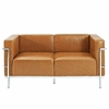 Charlie Grande Loveseat Leather