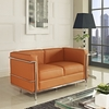 Charlie Petite Loveseat Leather