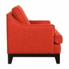 Chicago Arm Chair Burnt Orange