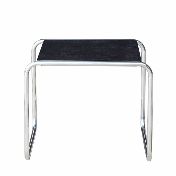 Chrome Small Nesting Table Modern In Designs