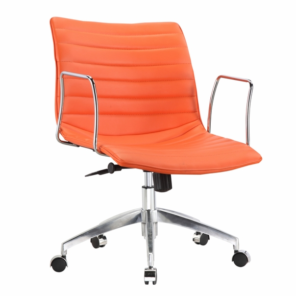Comfy mid back office chair modern in designs for Modern comfy chairs