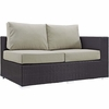 Convene Outdoor Patio Right Arm Loveseat