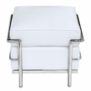 Cube Lc Leather Ottoman