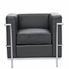 Cube Lc2 Petit Leather Chair