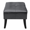 Danial Bonded Leather Bench