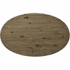 """Drive 47"""" Oval Wood Top Dining Table"""