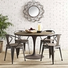 """Drive 48"""" Round Wood Top Dining Table"""
