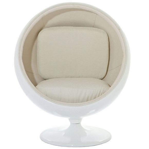eero aarnio ball chair bubble sphere shaped chair modern in designs. Black Bedroom Furniture Sets. Home Design Ideas