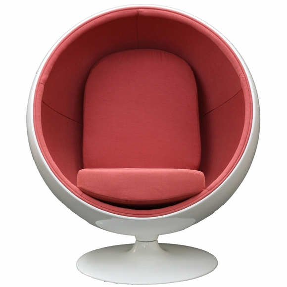 Eero Aarnio Ball Chair, Bubble Sphere Shaped Chair - Modern In Designs