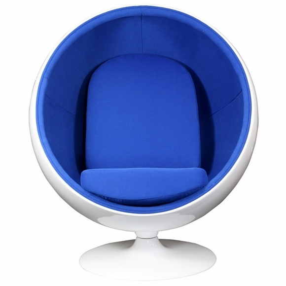 sc 1 st  Modern In Designs & Eero Aarnio Style Ball Chair Blue