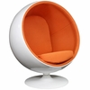 Eero Aarnio Style Ball Chair Orange
