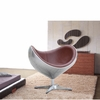 Eyebe Aluminum Chair, Brown