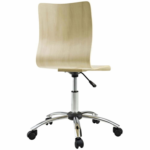 Fashion armless office chair modern in designs for Armless office chairs