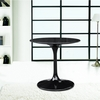 Flower Marble Top End Side Table