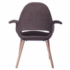 Forza Plywood Dining Chair, Brown