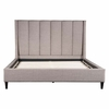 Gilded Age King Bed Dove Gray