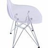 GlossWire Dining Side Chair, Clear