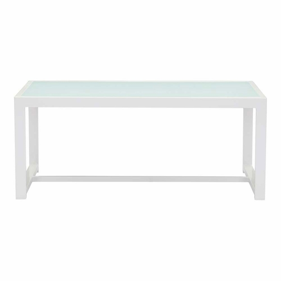 Golden Beach Coffee Table White Modern In Designs