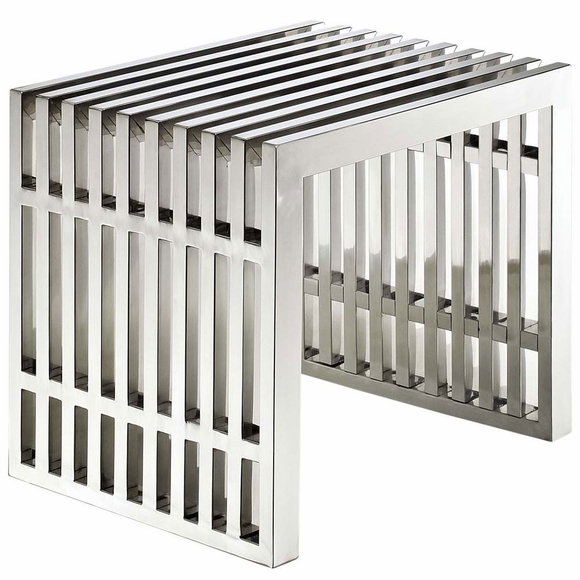 Gridiron Small Stainless Steel Bench