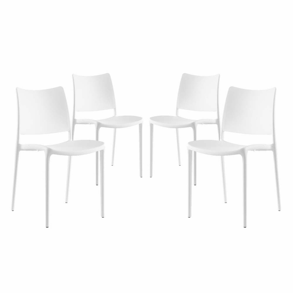 Hipster Dining Side Chair Set Of 4 Modern In Designs