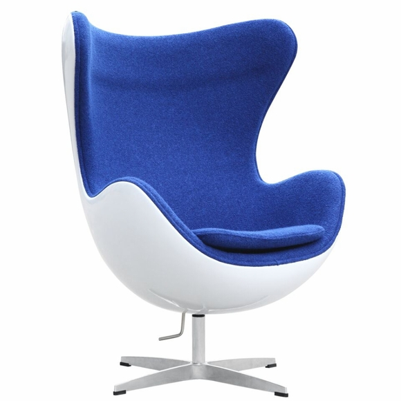 Arne Jacobsen Egg Chair Fiber Glass Shell Modern In Designs