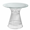 "Libo 30"" Dining Table, Clear"